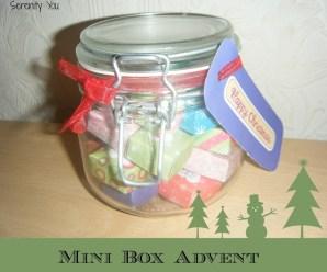 Mini Box Advent Calendar {Tutorial}