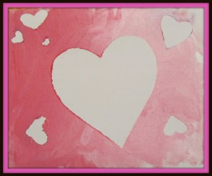 A super simple Valentine's Day craft