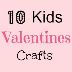 10 kids Valentine Carfts