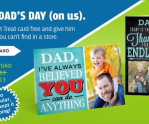 Get a FREE Father's Day Card!!