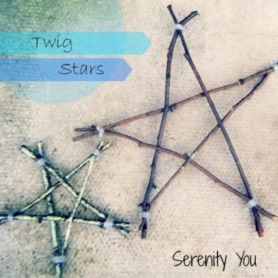 Handmade Twig stars