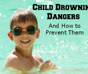 Child Drowning Dangers and How to Prevent Them {guest post}