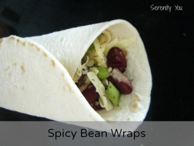 Spicy Bean Wraps