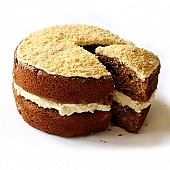 Gluten Free Apple Crumble Sponge Cake delivery to UK [United Kingdom]