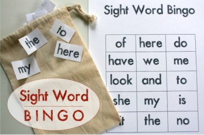 Playful Learning: Sight Word Bingo