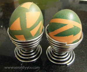 Resist Art with Easter Eggs