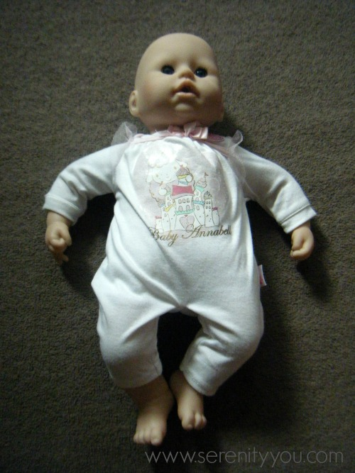 Baby Annabell Doll Review - Serenity You