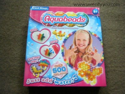 Aquabeads Jewel Rings Set Review