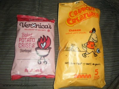 Veronica's Snacks and crisps