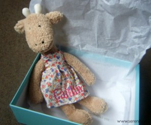 Personalized Jellycat Giraffe