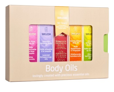 Weleda Body Oils Gift Set from Big Green Smile