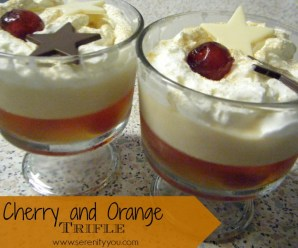 Cherry & Orange Trifle