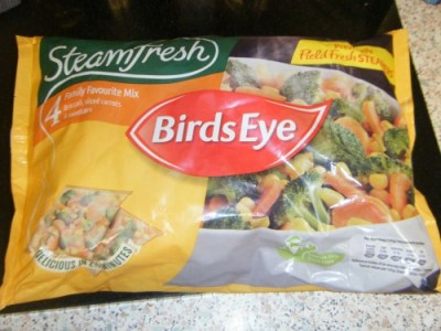 Birds Eye Steam Fresh Range veg - Family Favourites Mix
