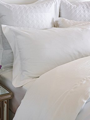 simple pure white sheets