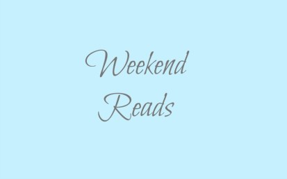 weekend reads