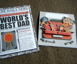 Decoupage Father's Day Cards