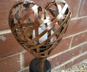 Beautiful Mini Heart Garden Lights