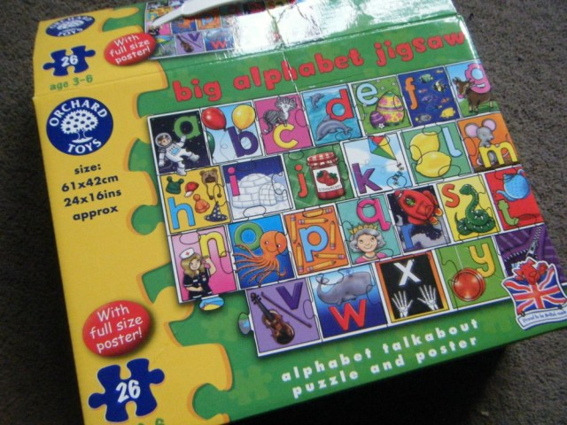 Orchard Toys Big Alphabet Jigsaw 1