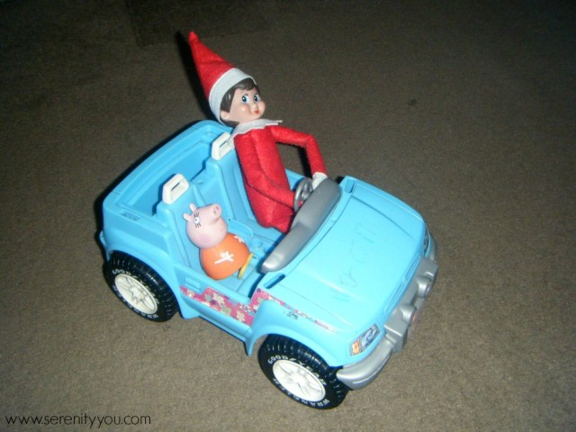 The Elf on the shelf 9