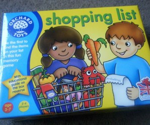 Updated Shopping List Game + giveaway