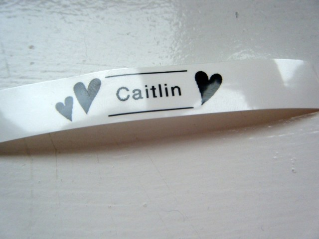 label maker - caitlin