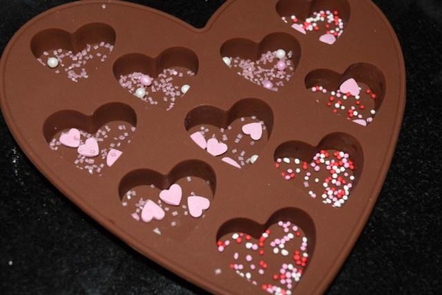 valentine heart chocolates 2