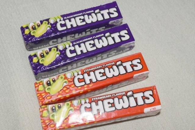 degustabox - chewits