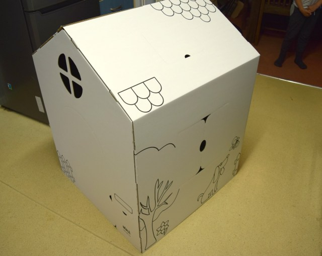 cardboard house 3