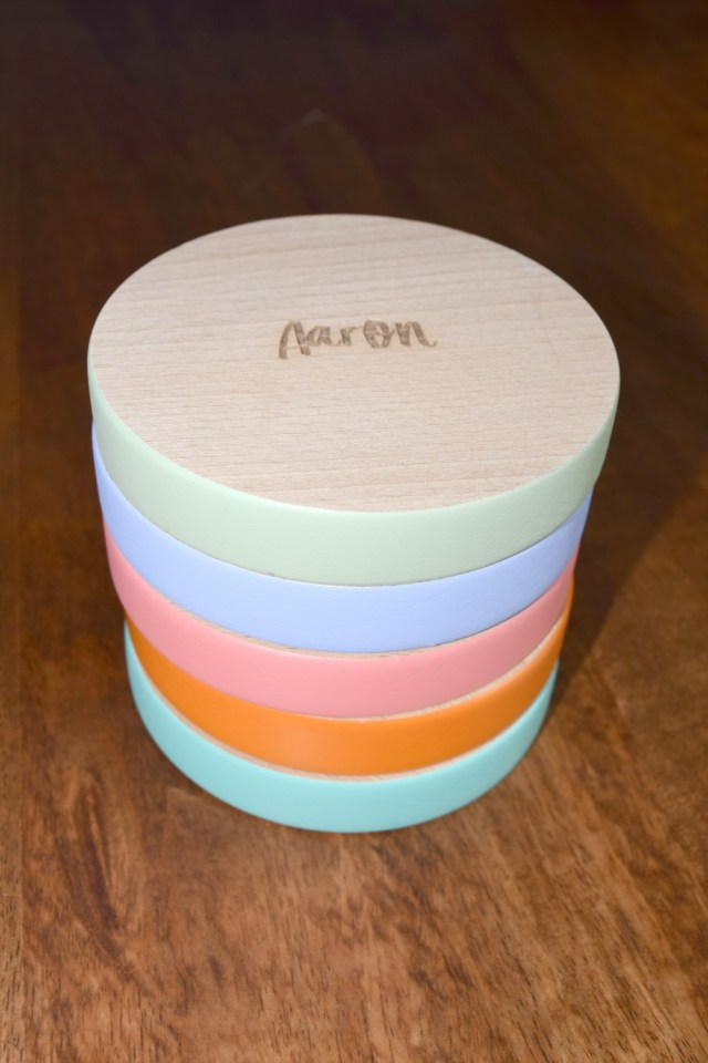 personalised coasters review from Dust and Things on Serenity You