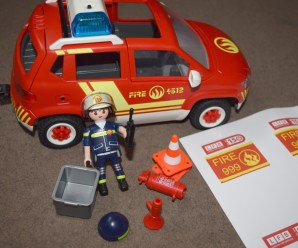 Playmobil Fire Chiefs Car Review