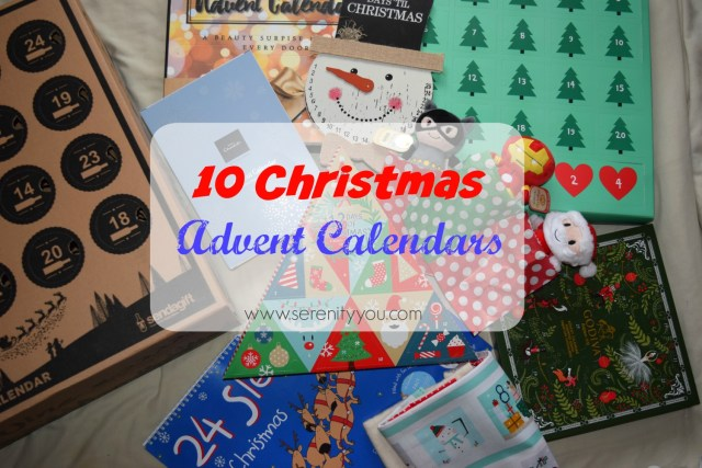 10 Fab Christmas Advent Calendars!