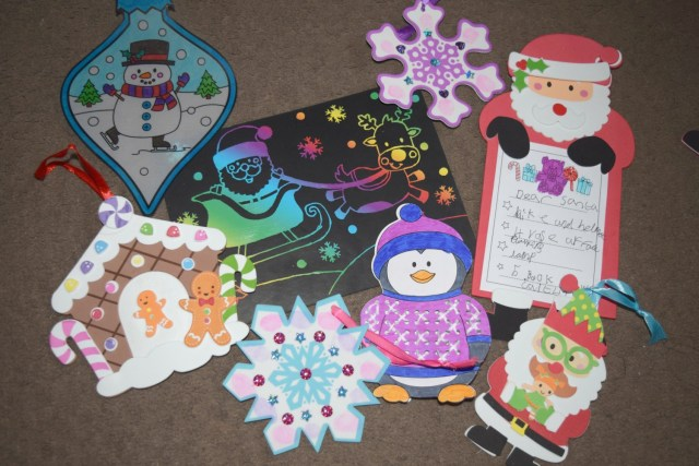 Getting Ready for Christmas with Baker Ross Christmas Crafts