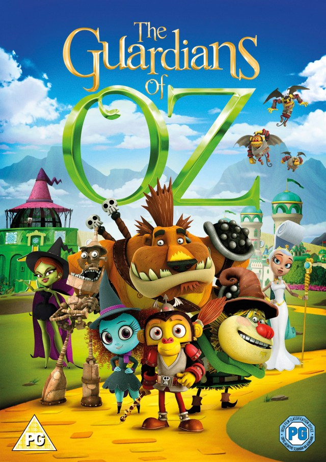 Win the Guardians of Oz on DVD with Serenity You