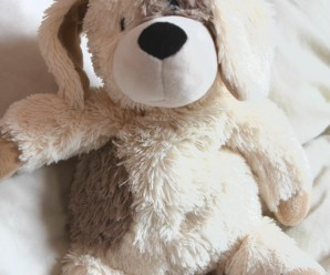 Cute Warmies Plush Puppy Review + Giveaway