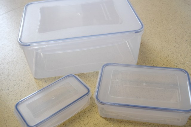 food containers - food storage - food prep