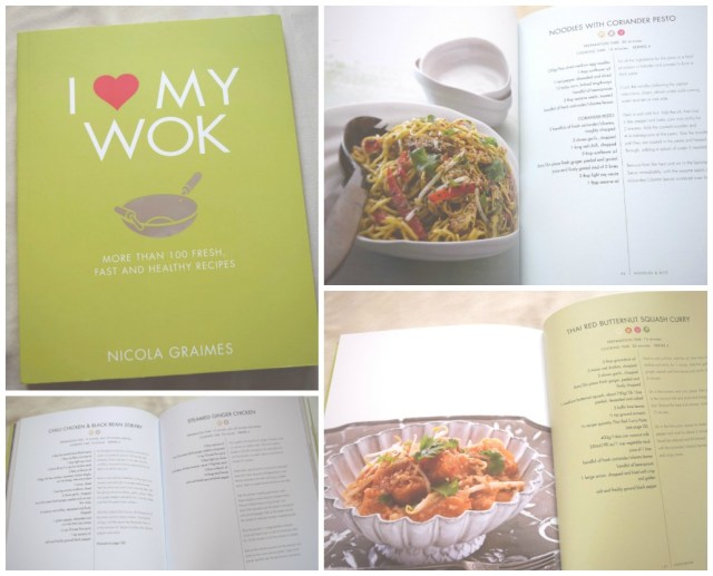 I Love my Wok by Nicola Graimes Book Review