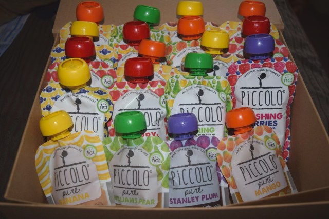 piccolo baby food - back to school lunches