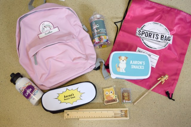 Win a Personalised Back to School Bundle on Serenity You