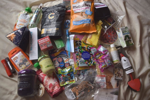 My First Blog On Conference at Manchester #BlogOnXmas - goodie bag