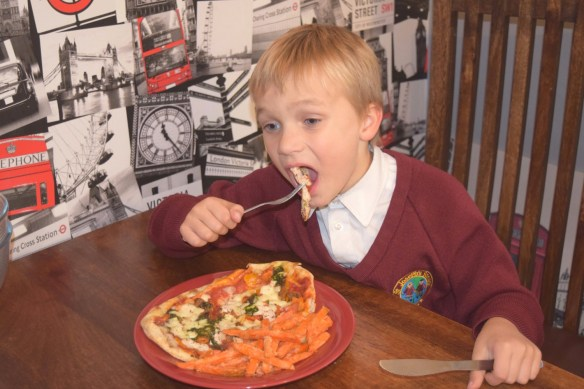 Family Meal Time with Pizza Express Leggera