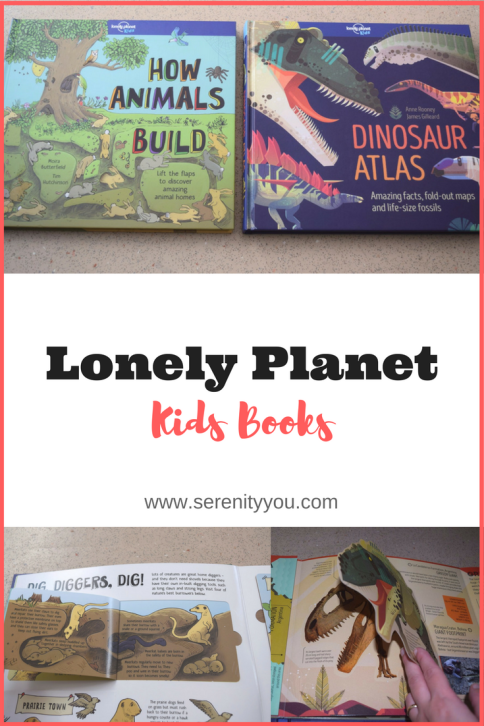 Lonely Planet Kids books - How Animals Build & Dinosaur Atlas