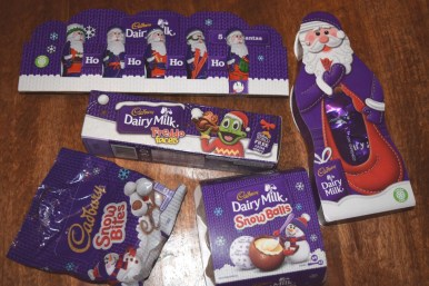 cadburys Christmas Chocolate