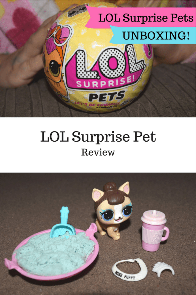 LOL Surprise Pet Review