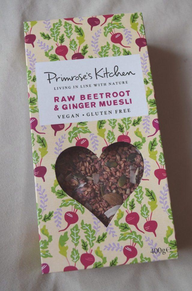 Primrose's Kitchen - Raw Beetroot & Ginger Muesli