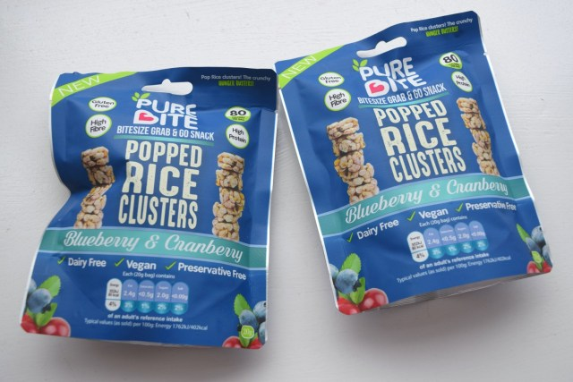Pure Bite Popped rice clusters