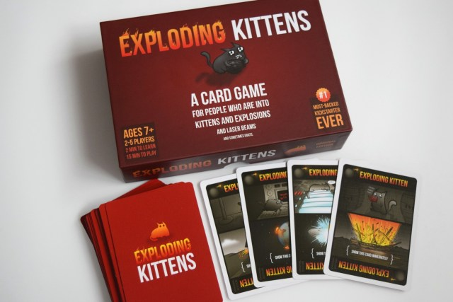 Exploding Kittens Game Review #BoardGameClub
