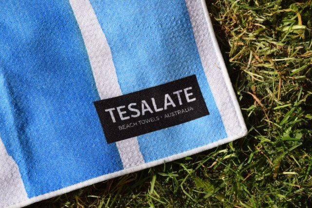 Getting ready for summer with my sand resistant beach towel