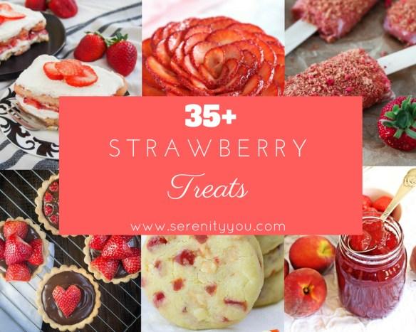 35+ Strawberry Treats