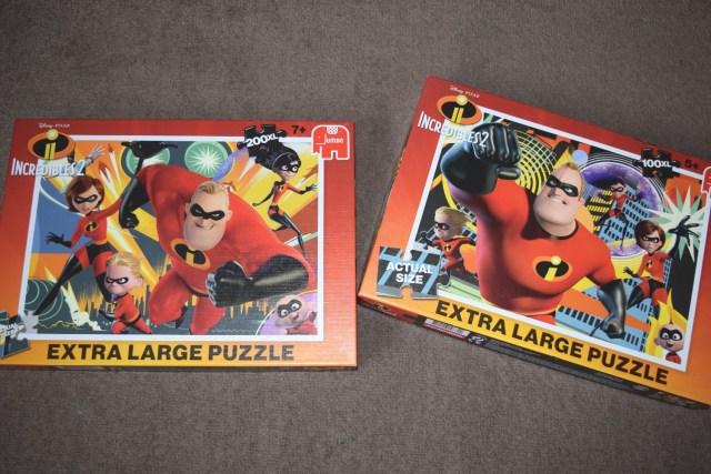 Incredibles 2 Jigsaw Puzzles from Jumbo