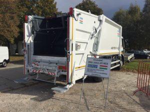 Seres HPF18 hulladékgyűjtő, Load Sensing hidraulikával
